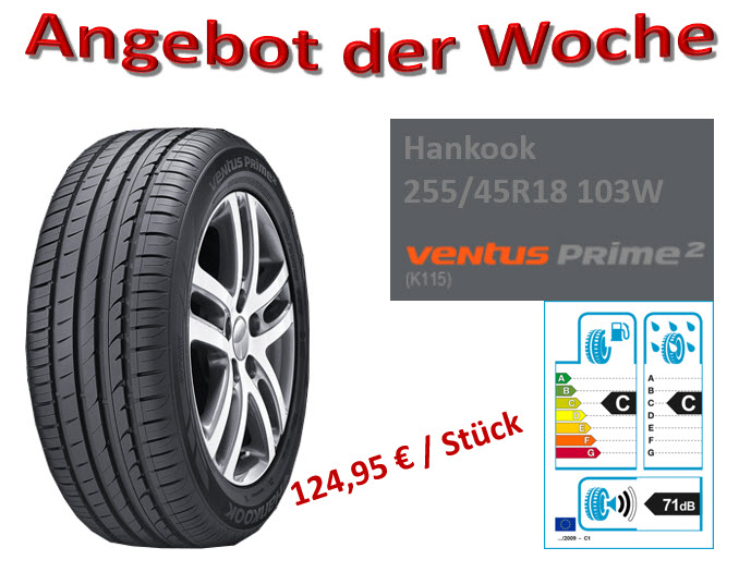 25545R18 Hankook
