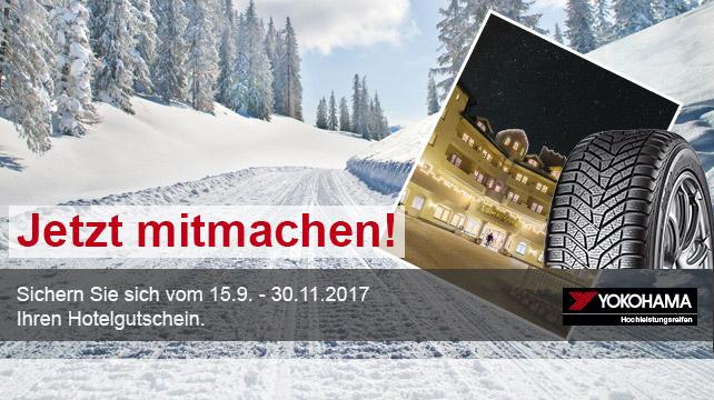 #YOKOHAMAreifen+#Hotelgutscheinaktion+#Winter+2017