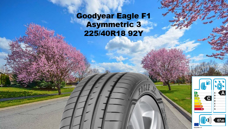 Goodyear Eagle F1 Asymm. 3